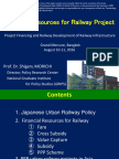 Financial Resources for Railway Project
