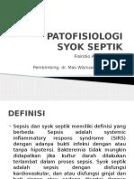 PATOFISIOLOGI SYOK SEPTIK