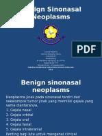Benign Sinonasal Neoplasms