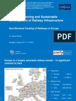 Non-Revenue Funding of Railways in Europe