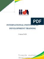 IIDT Profile 2016