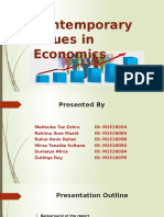 Contemporary Issues in Economics