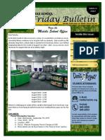 MS Parent Bulletin (Week of September 5 to 9)