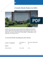 Bhoomi Disk Family Sheds Stakes in GHCL
