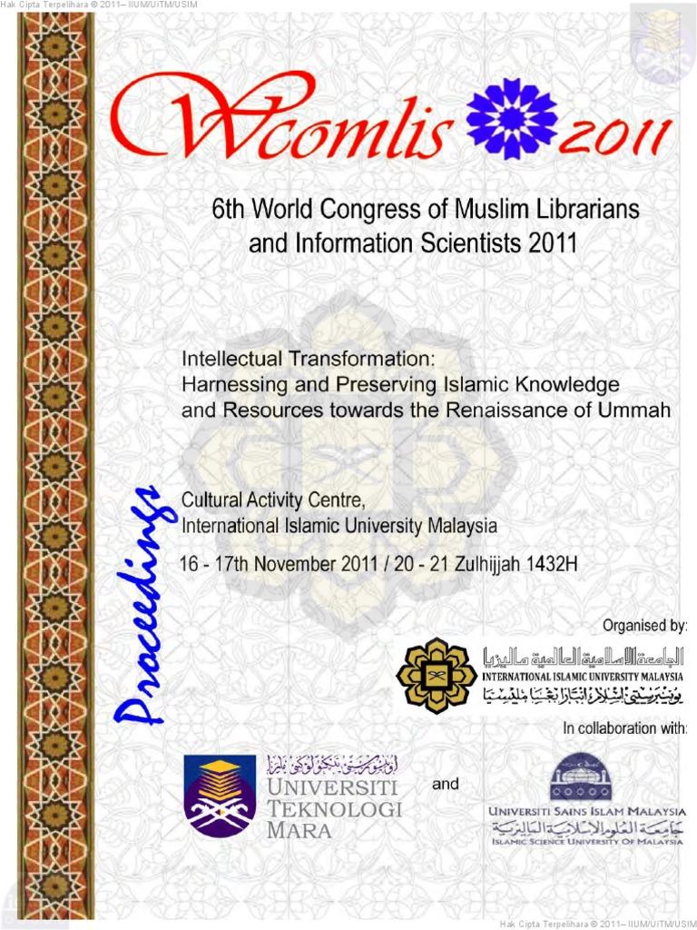 Wcomlis2011proceedingspdf mosque technology fandeluxe Gallery