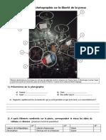 Analyse de Photographie Sur La Liberté de La Presse Ok
