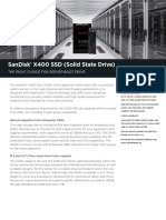 x400 Ssd for Boot Drives Data Sheet
