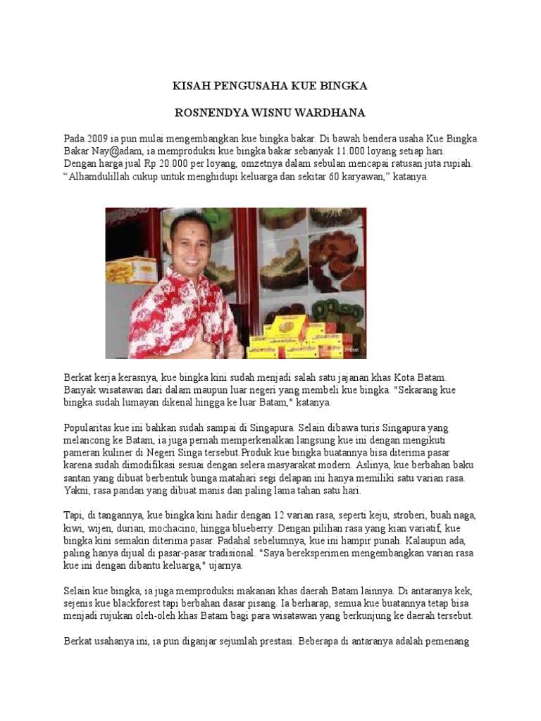 Kisah Pengusaha Kue Bingka Produk Ukm 1538203573v1