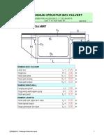139684512 Desain Box Culvert PDF