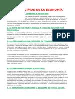 10 Principios de La Economía