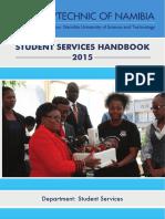 Student Services Handbook 2015 Final