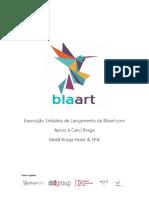 Exposicao Solidária Blaart - 4 de Setembro