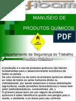 Treinamento Produtos Químicos Especifico