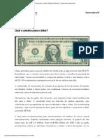 Artigo Câmbio, Qual o Cenario Para o Dolar Empiricus Research