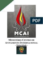 MCAI - Passos de Formação de Servos - Módulo 1 - Maturidade