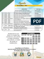 Agenda Região Publicação - Setembro