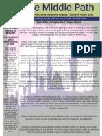 "Al-Jalal Masjid ""The Middle Path"" June 2010 Newsletter"