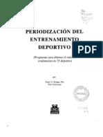Periodizacion Del Entrenamiento Deportivo.by Gustavo