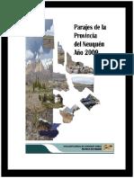 Parajes en La Provincia de Neuquén. (2009)