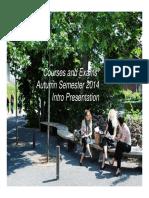 Courses and Exams E14- Grad