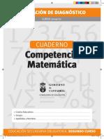Competencia Matematica Secundaria Piloto 09 10