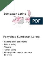 SUMBATAN LARING