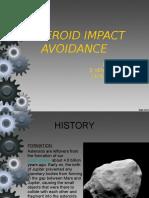 ASTEROID IMPACT AVOIDANCE.ppt