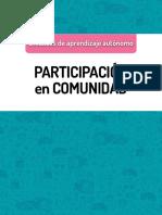Unidades de Aprendizaje Autónomo Participación En Comunidad