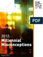 CultureQ Trend Research - Millennial Misconceptions