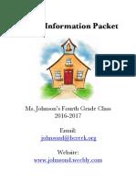 parent packet  16-17