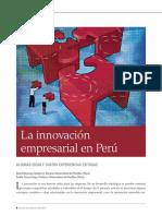 La innovacion empresarial en el Peru