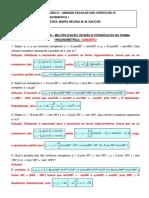Números Complexos - Forma Trigonométrica - Gabarito - 2008.pdf