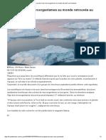 Les Plus Vieux Microorganismes Au Monde Retrouvés Au Groenland