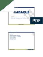 Abaqus Manual Fo Rl9-Damage-failure