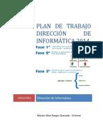 Plan Trabajo 2014