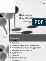 Simulateur d'applications - iLearning Forum 2008