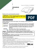 Hitachi CP AW250N UserManual