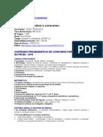 APOSTILA - CONCURSO PARA SOLDADO COMBATENTE DA PM ES 2010