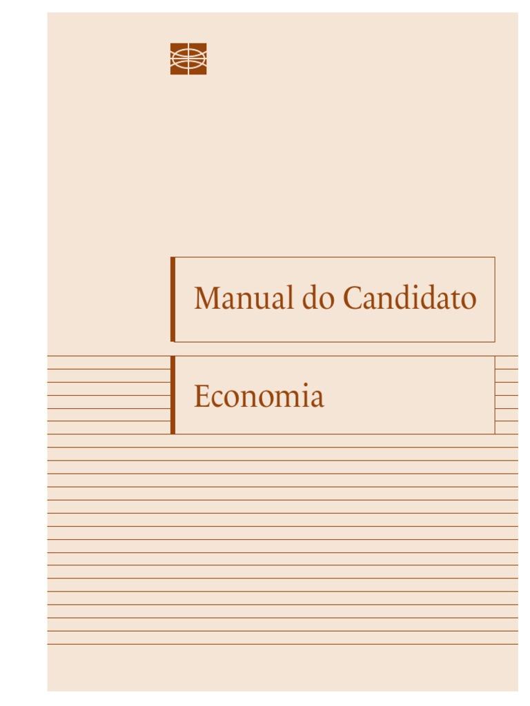 Manual do candidato funag economia 2016 fandeluxe Images