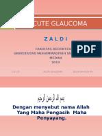 Acute Glaucoma