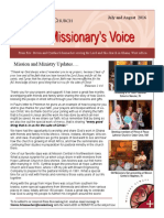 the missionarys voice