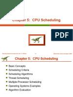 2800 Lecture5 Cpu Scheduling