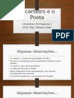O Carteiro e o Poeta - Observações