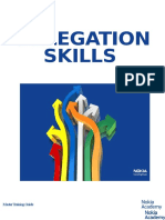 Delegation Skills - Trainer Guide