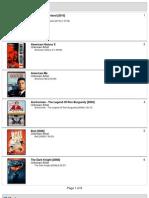 50 Movie List