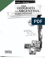 Kapeluz Una Geografía de La Argentina Para Pensar