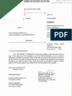 Vishal Rohit Nathani vs. Maelstrom Gaming LLC, Martin Shkreli, & Gerard Kelly