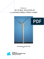 Notes on Structural Analysis of Composite Shell Structures
