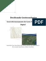 Georreferenciamento de Carta Topográfica no ArcGIS