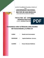 Relacion Entre Gestion Del Conocimiento y Web 2.0